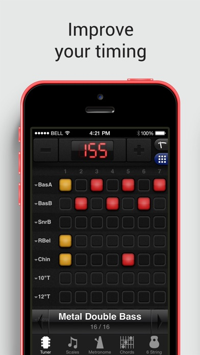 GuitarToolkit - tuner, metronome, chords & scales