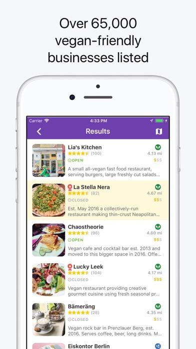 HappyCow Find Vegan Food app image