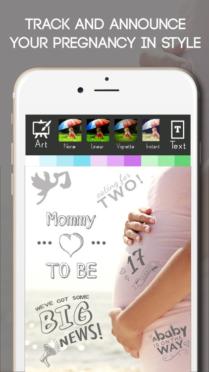 Baby Milestone Free Sticker Maker Pregnancy Editor screenshot-2