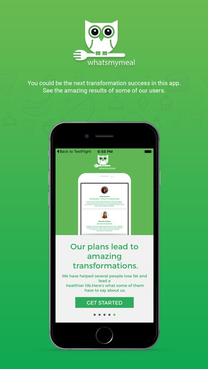 whatsmymeal - Improve your daily nutrition
