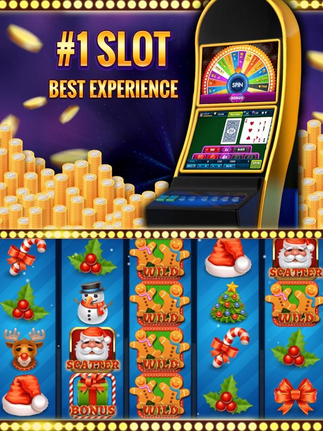 Xmas Slot Machine Lucky Casino Screenshot