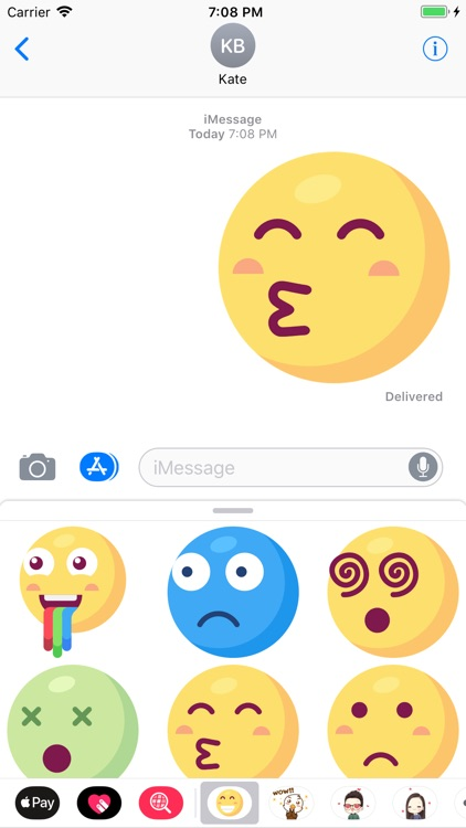 Big Emoji: 50 Big Stickers