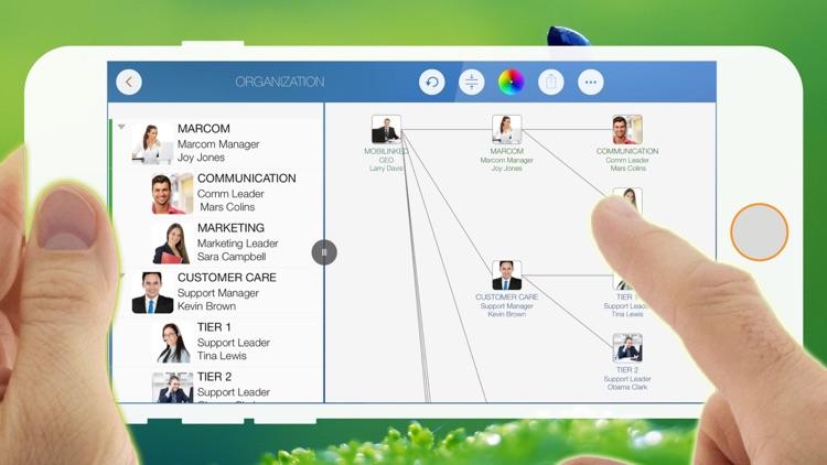 OrgChart - Organization Chart & Contact Management screenshot-4