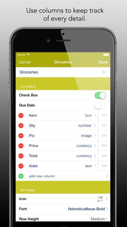 List Master - Create Lists Your Way screenshot-3
