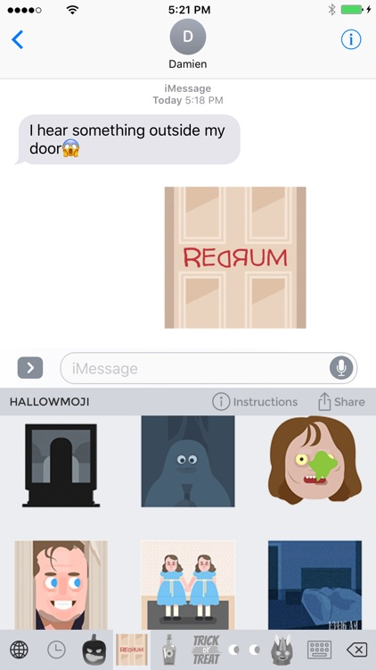 Hallowmoji - Halloween Emojis and Stickers screenshot-0
