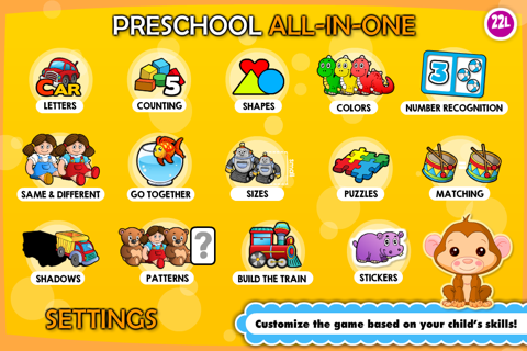 Abby Monkey Basic Skills Pre K screenshot 3