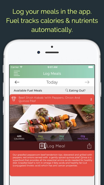 Fuel Meal Delivery: Customized Organic Meals