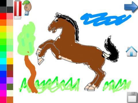 Paarden Kleurplaten Is Mijn Pony.Kleurplaten Van Paarden Pony App Voor Iphone Ipad En Ipod