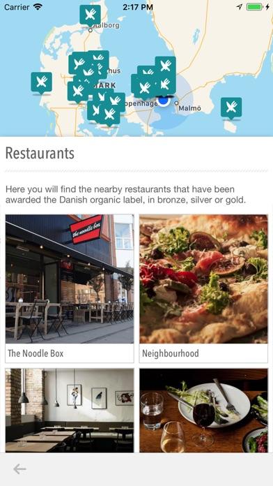 Organic eateries in Denmark screenshot 3