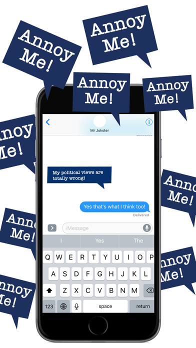Annoy Me! - Annoying but Fun Stickers Pack screenshot three