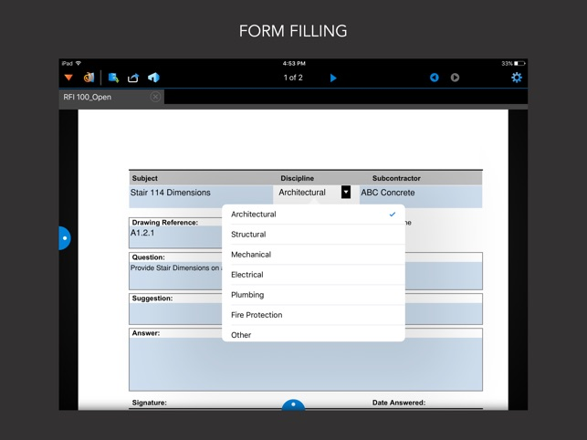 Bluebeam Vu for iPad su App Store