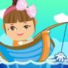 艾米钓鱼小游戏,宝宝钓鱼,宝宝爱钓鱼小游戏