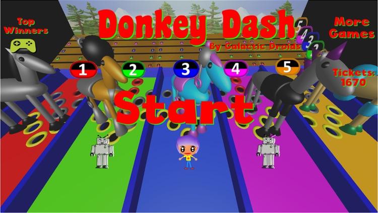 Donkey Dash Derby screenshot-3