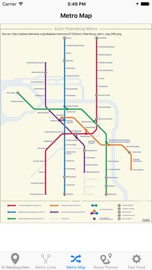 St Petersburg Metro Subway On The App Store