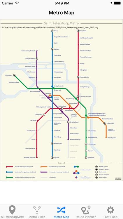 St.Petersburg Metro screenshot-4