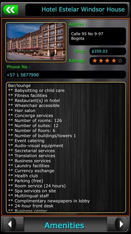 Bogota Offline Map Travel Guide screenshot-3
