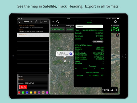 GPS Receiver HD Screenshots
