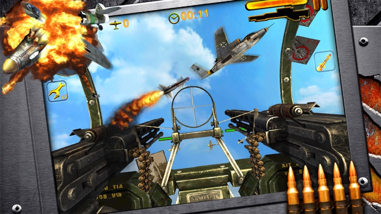 Turret Commander - shoot from B17 top machine gun screenshot-3