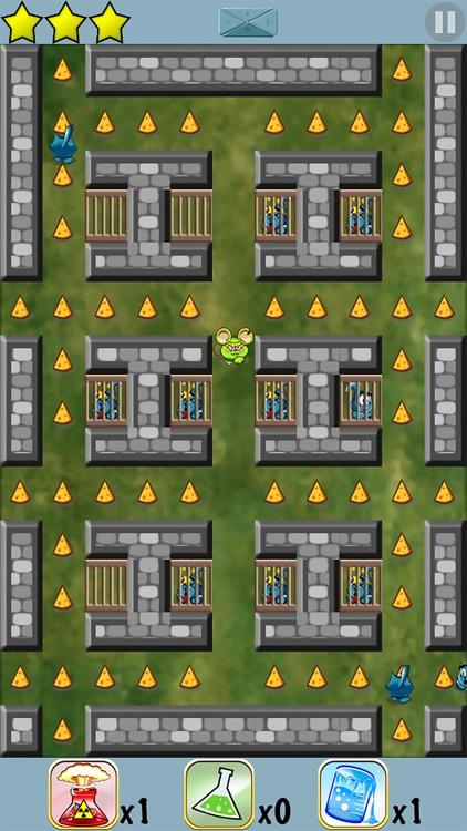 Mouse Maze - Top Brain Puzzle