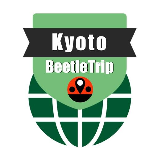 Kyoto travel guide and offline city map, Beetletrip Augmented Reality Japan Kyoto Metro Railways JR Train and Walks