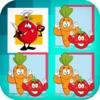 成人的水果记忆游戏 - 体育记忆游戏