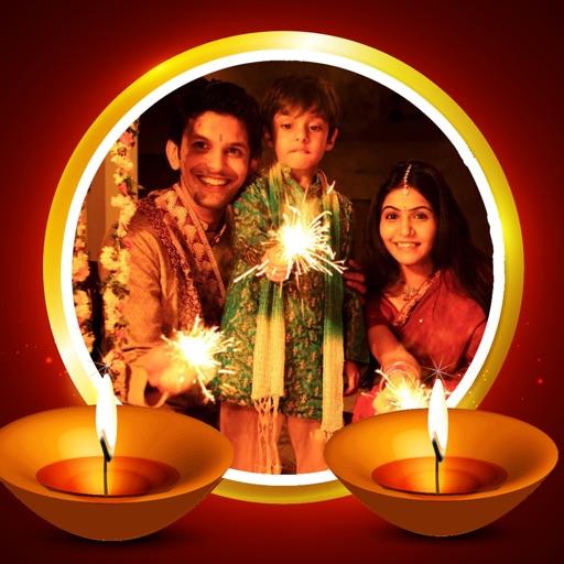 Happy Diwali Photo Frames Free