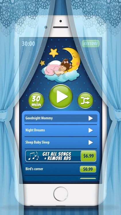 Lullaby Music for Babies – Baby Sleep Song.s App