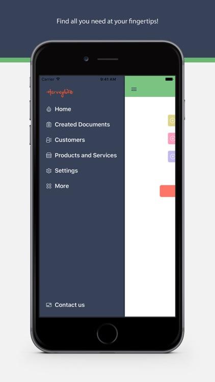 Invoice Lite by HarveyWiz: PDF Invoicing & Receipt screenshot-0