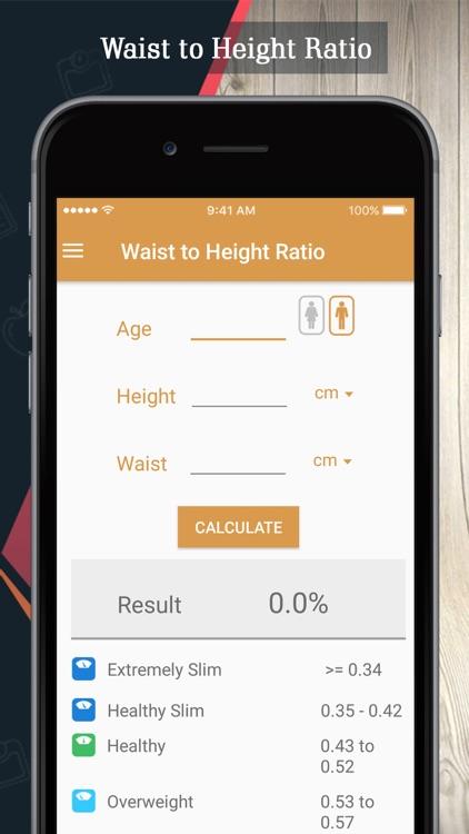 BMI Calculator: Bmr & Body Fat screenshot-4