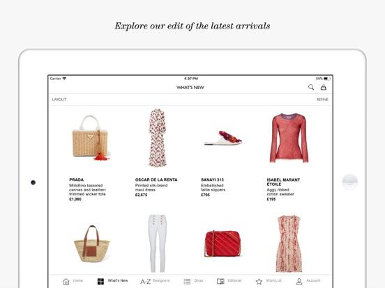 NET-A-PORTER: Designer Fashion Скриншоты9
