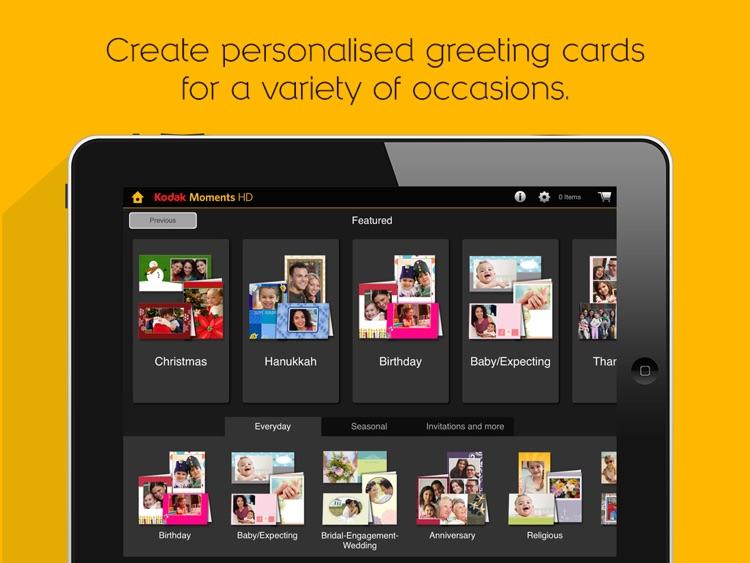 KODAK MOMENTS HD Tablet App. screenshot-3