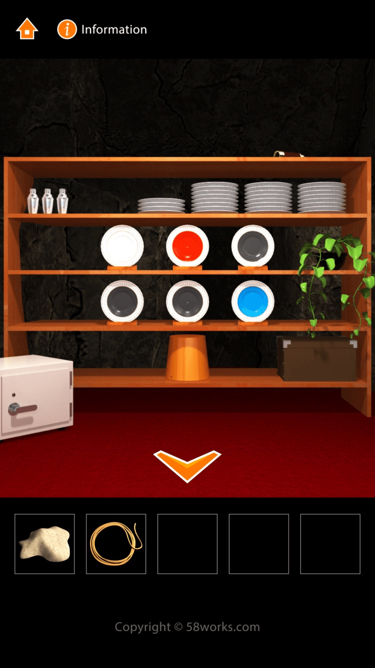 Cave Cafe Escape Screenshot