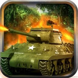 American Tank Mobile Strike : Gorilla War at 1990 City Balttlefield