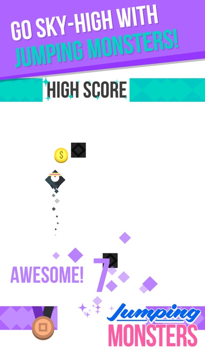 Jumping Monster Amazing Arcade Game