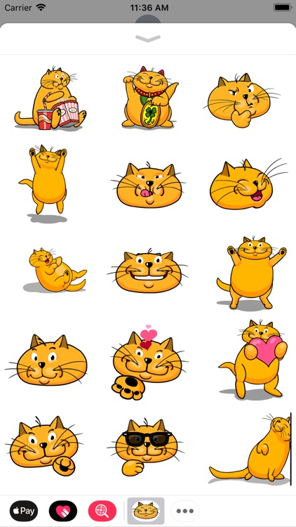 Say it with fat CATS