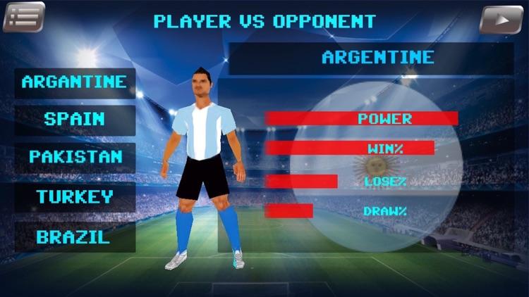 PRO FOOTBALL soccer league International 3D screenshot-3
