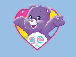 Show you care by sharing Care Bears stickers