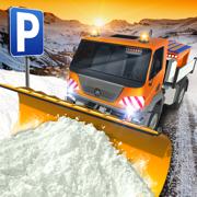 Ski Resort Parking Sim Ice Road Snow Plow Trucker