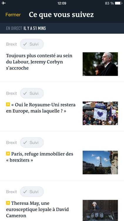 Le Monde, l'info en continu screenshot-4