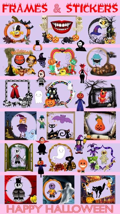 Halloween Photo Frames Editor & Sticker Booth Free screenshot-3