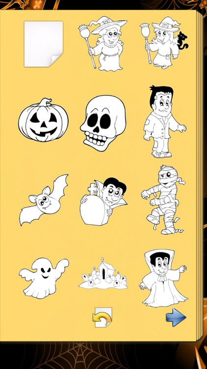 Halloween Coloring Book! screenshot-4