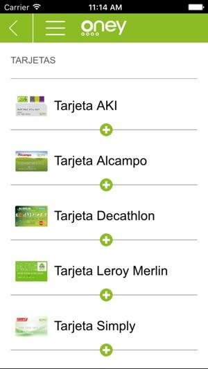 Oney espa a en app store for Tarjeta alcampo oney