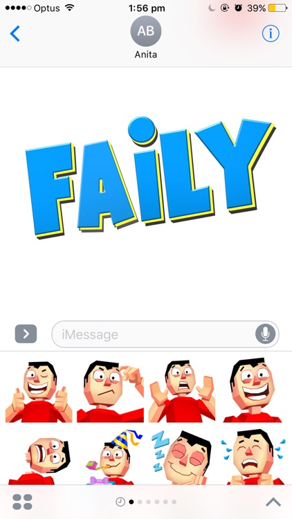 Faily Stickers