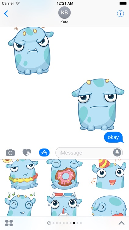 Pupul The Adorable Sticker Pack