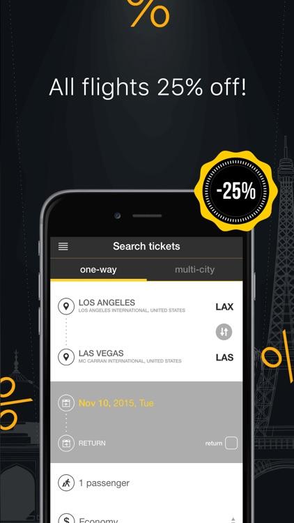 Cheap Flight Bookings - Best Airfare Deals & Cheap Flight Booking App screenshot-4