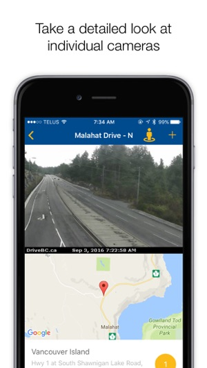 BCHighways - Road conditions & web cams of BC on the App Store