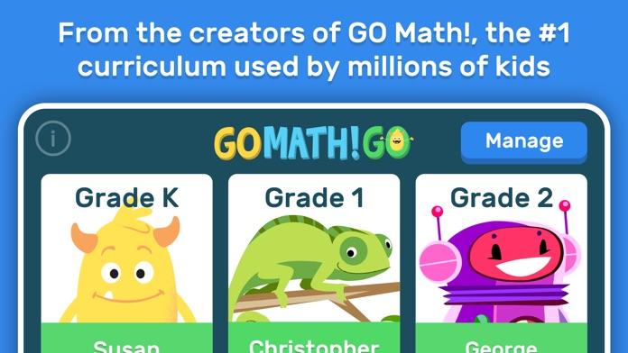 GO Math! GO – Fun learning for grades K, 1st & 2nd Screenshot