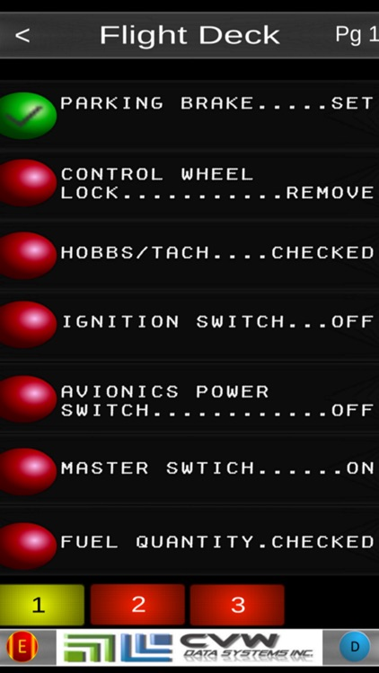 Victor's Cessna 172 Checklist screenshot-2
