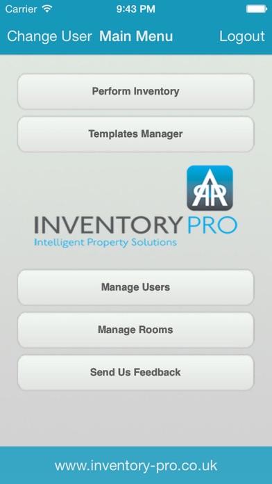 InventoryPro screenshot one