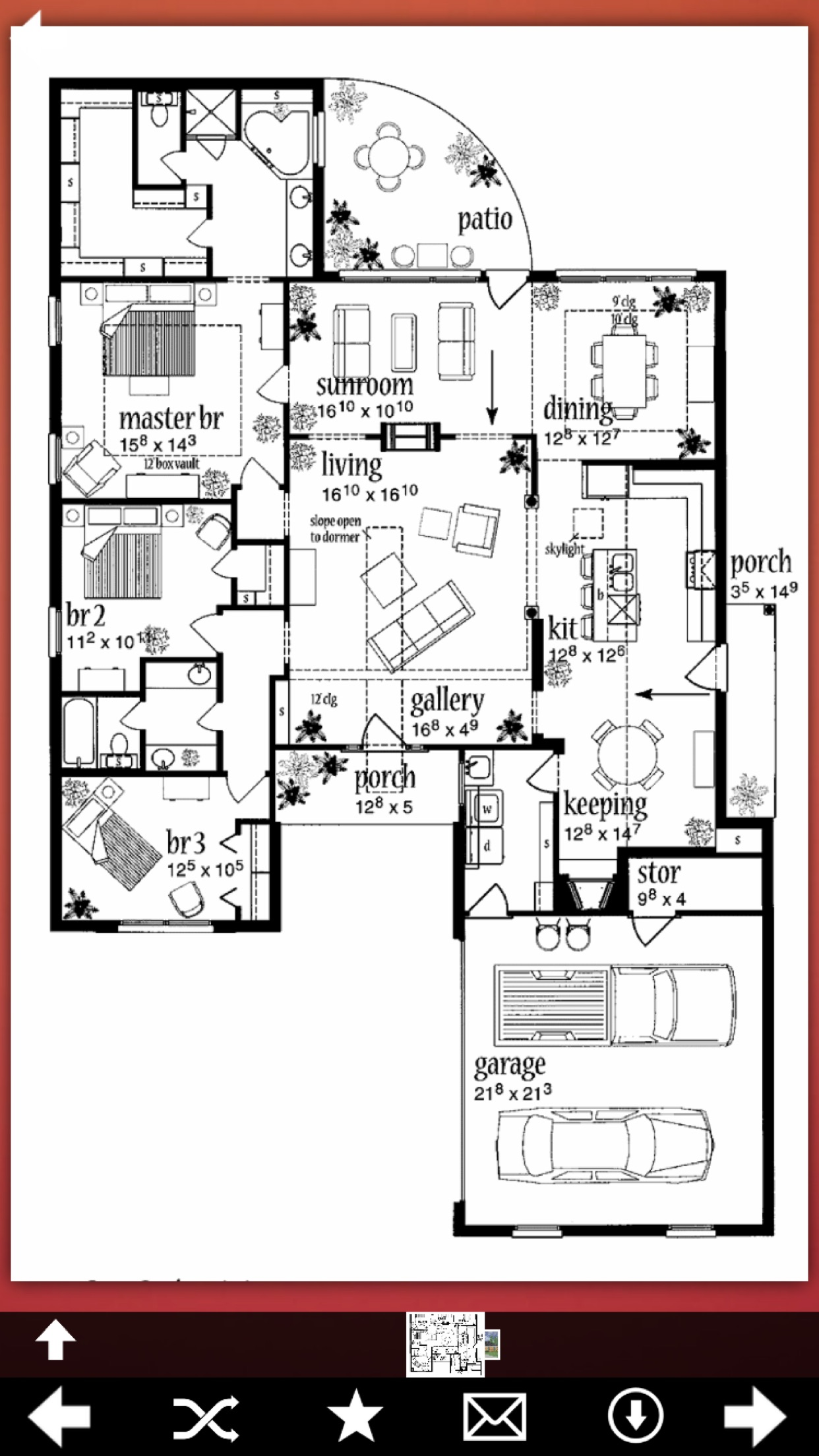 Country House Plans Ideas Screenshot